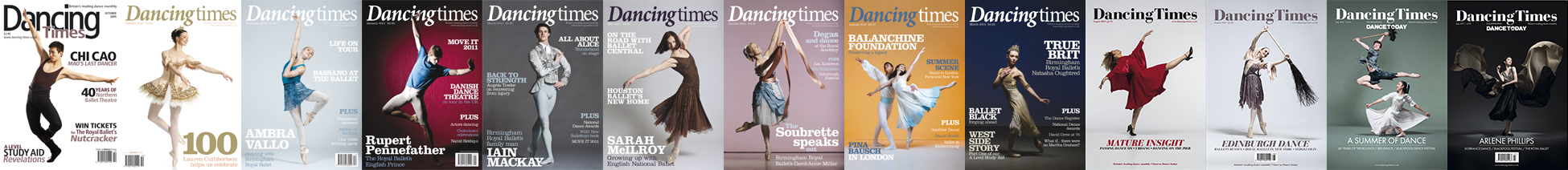 Dancing Times Magazine Tear Sheets